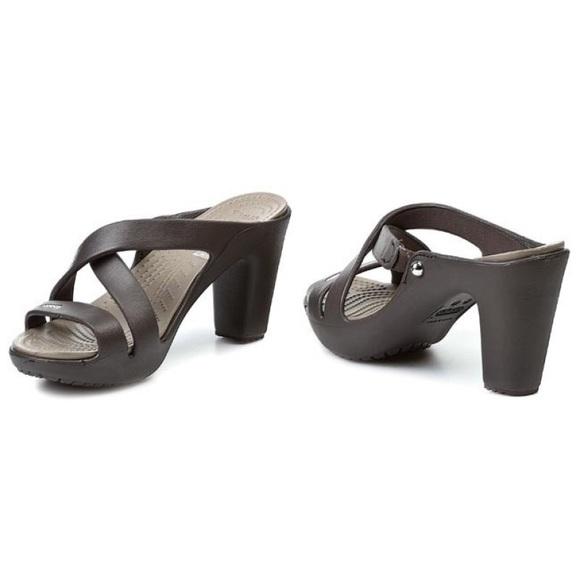 c985c9057aa CROCS Shoes - CROCS Cyprus IV Heel 14558